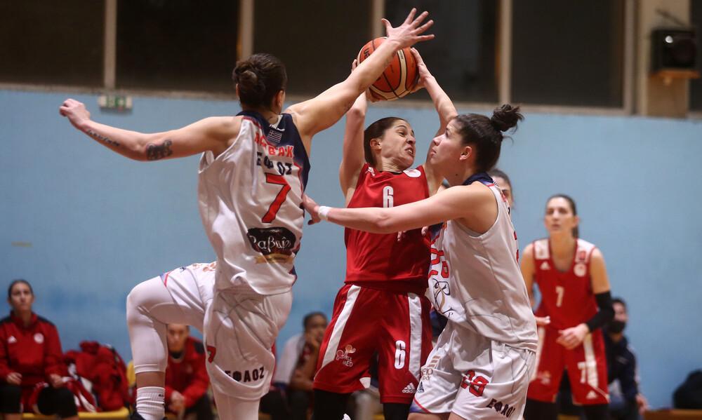 Μπάσκετ γυναικών: Εύκολα ο Ολυμπιακός (Photos)