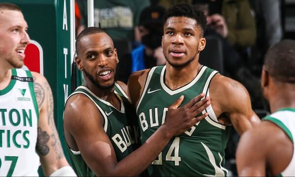 NBA: Γλίτωσαν το «χαρακίρι» οι Μπακς - Χαμηλά κόντρα σε Σέλτικς ο Αντετοκούνμπο (video)