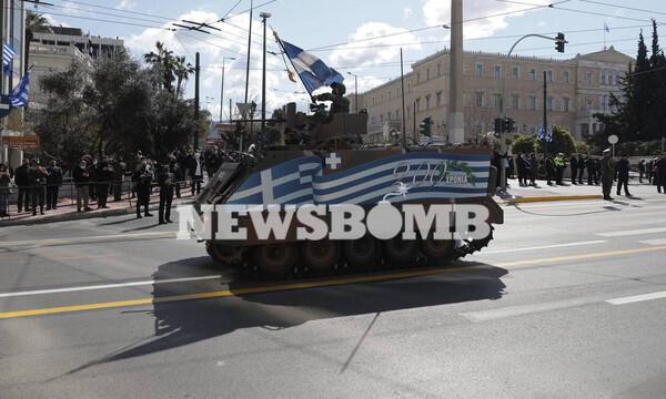 Εθνική επέτειος 25ης Μαρτίου: Δόξα, τιμή και περηφάνεια στη μεγαλειώδη στρατιωτική παρέλαση