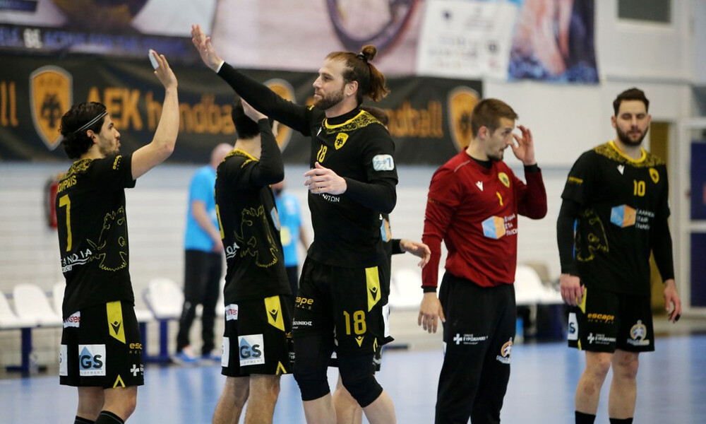 EHF European Cup: Βήμα πρόκρισης για τα ημιτελικά η ΑΕΚ