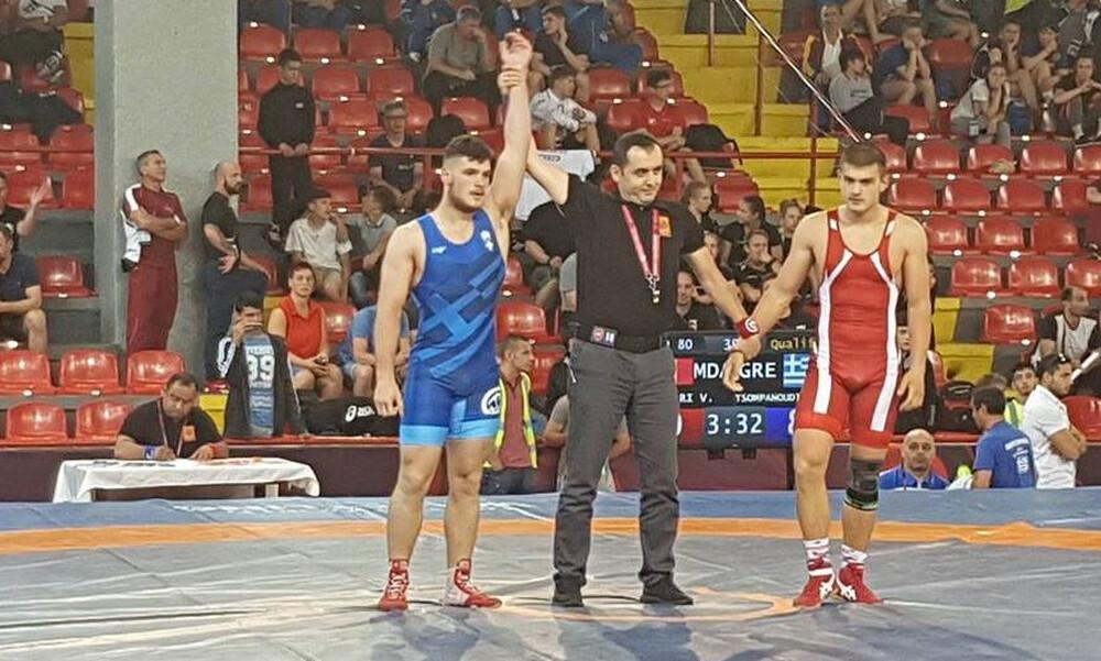 Πάλη: Στον τελικό ο Τσομπανούδης