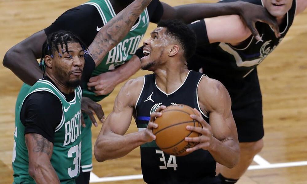 NBA: Εκδίκηση για Σέλτικς - Σε κακή μέρα ο Γιάννης (photos+video)