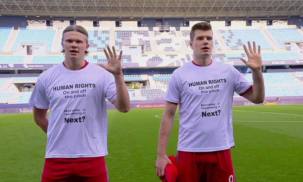 Κατάρ 2022: Νέα αντίδραση των Νορβηγών (Photos)