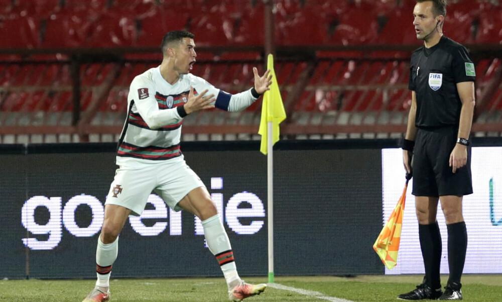 Απολογήθηκε ο διαιτητής που «έδιωξε» τον Ρονάλντο από το γήπεδο (video+photos)