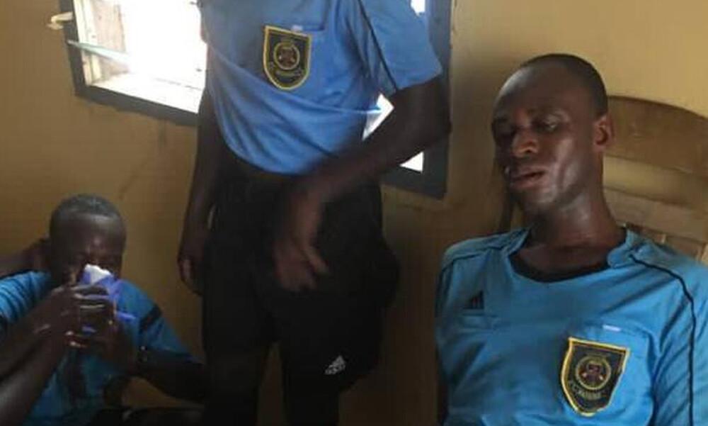 Άγριος ξυλοδαρμός διαιτητών από οπαδούς στην Γκάνα (photos+videos)