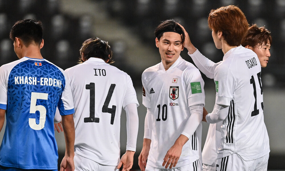 Προκριματικά Μουντιάλ: Η Ιαπωνία έβαλε 14 γκολ στην Μογγολία (video+photos)