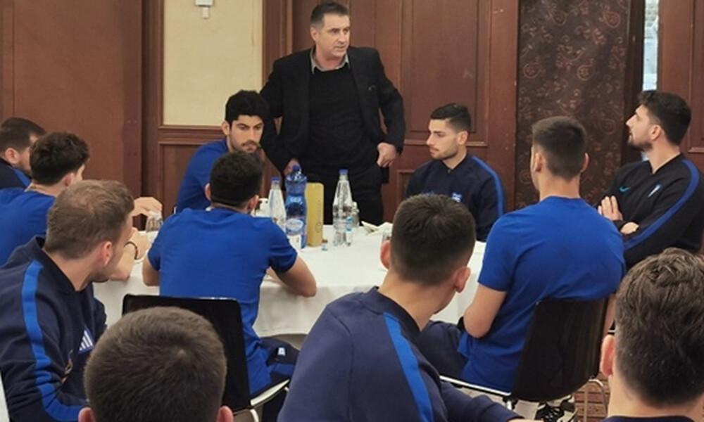 Εθνική Ελλάδας: Επίσκεψη Ζαγοράκη στην αποστολή - Αυτά είπε στους παίκτες