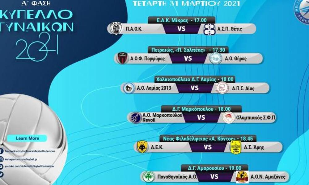 Κύπελλο Ελλάδος Γυναικών: Επιτέλους... σερβίς
