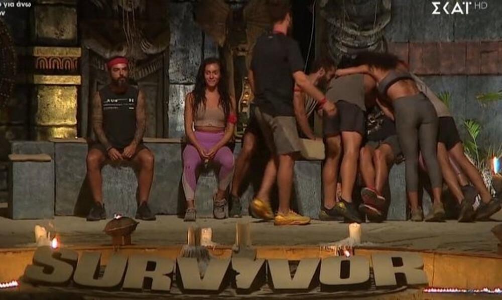 Survivor: Απίστευτη αποθέωση για Μαριάνθη - Άγριο κράξιμο σε «Κόκκινους»: «Σιχάματα» (photos+video)
