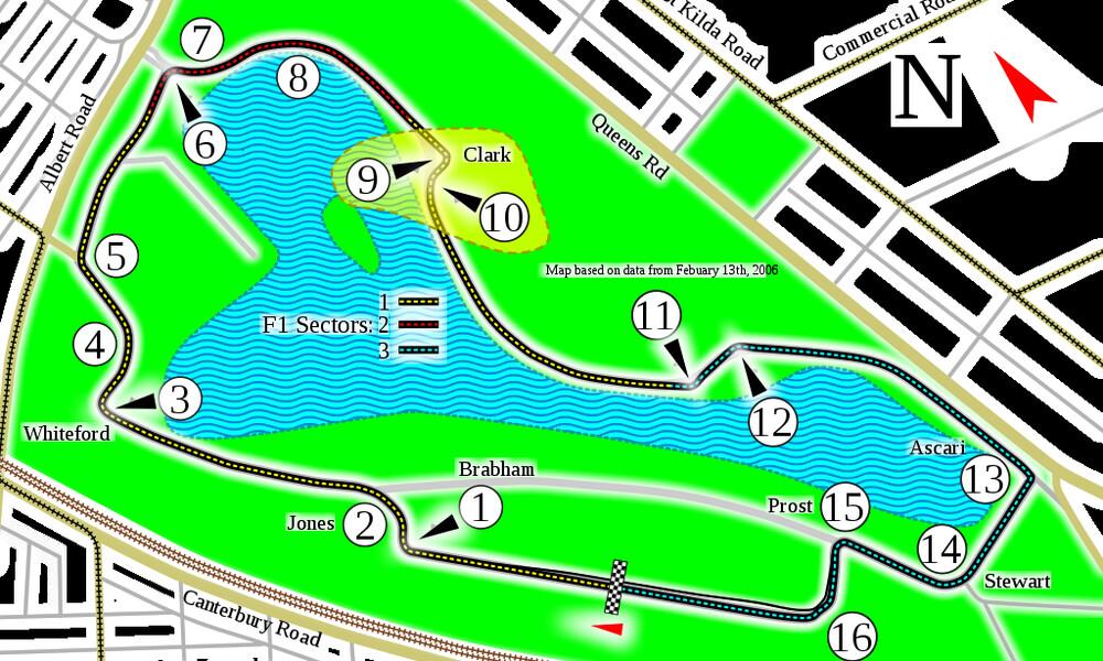 Formula 1: Μετατρέπεται σε... ναός της ταχύτητας η πίστα στη Μελβούρνη