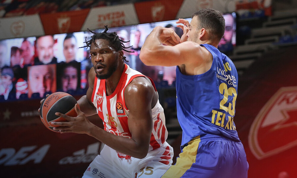 Ερυθρός Αστέρας-Μακάμπι Τελ Αβίβ 76-64: Νίκη γοήτρου για τους Σέρβους