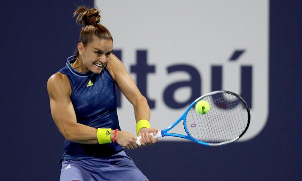 Miami Open: Λύγισε στον ημιτελικό η Σάκκαρη από την Αντρέσκου