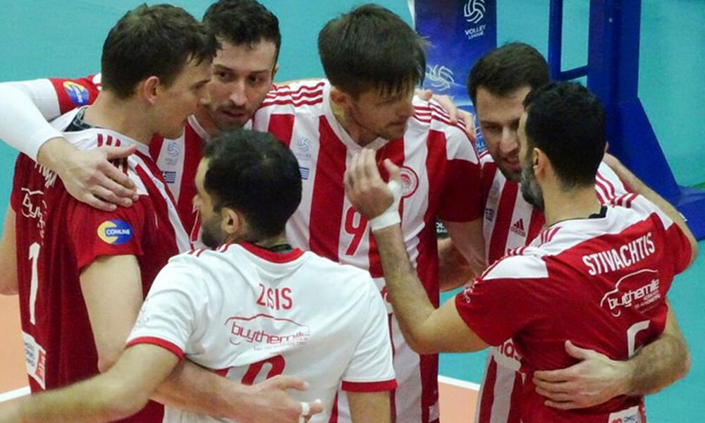 Volley League: «Αγκαλιά» με τον τίτλο ο Ολυμπιακός - Πέρασε εύκολα από τη Σύρο