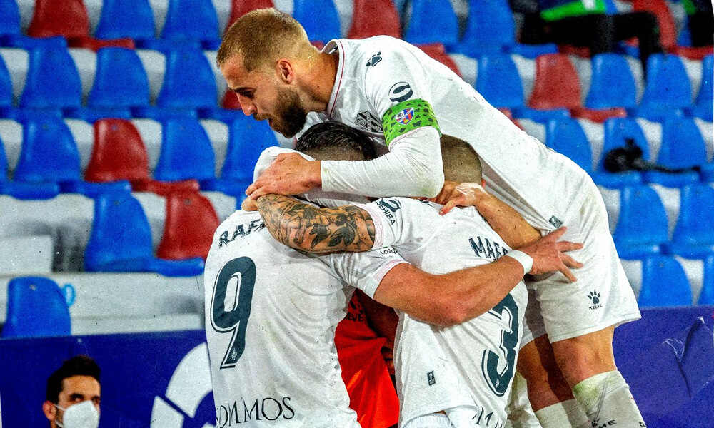 La Liga: Χτύπησε και αποχώρησε ο Σιοβάς, διπλό της Ουέσκα κόντρα στην Λεβάντε