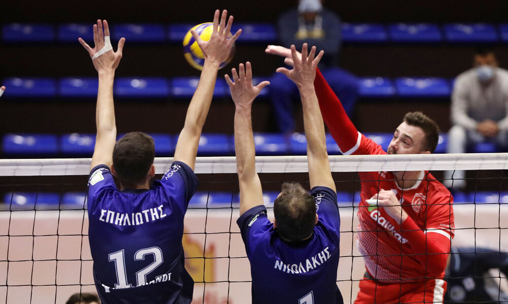 Volley League: «Μάχες» στα play out