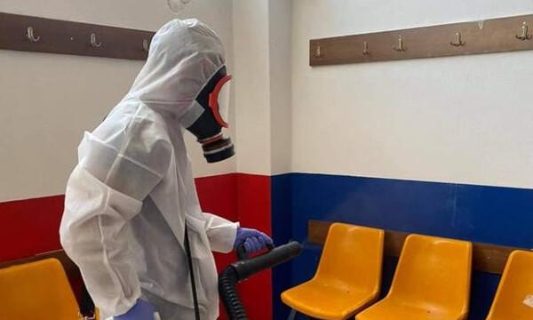 Τρίκαλα: Στο νοσοκομείο με κορονοϊό στέλεχος της ΠΑΕ
