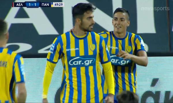 ΑΕΛ-Παναιτωλικός: Ο Βέργος απάντησε στον Ντουρμισάι και 1-1 οι Αγρινιώτες! (video)