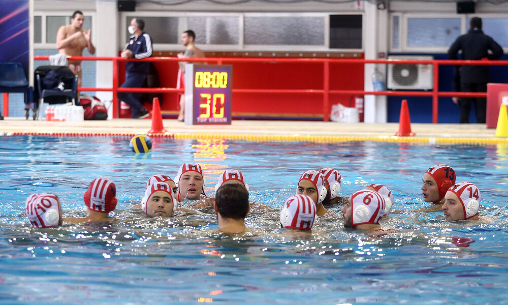 Α1 πόλο ανδρών: Νίκες για Ολυμπιακό, ΠΑΟΚ, Απόλλωνα