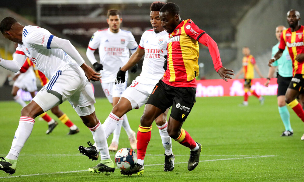 Ligue 1: Κόλλησε η Λιόν στην έδρα της Λανς κι έχασε έδαφος για τον τίτλο! (video+photos)