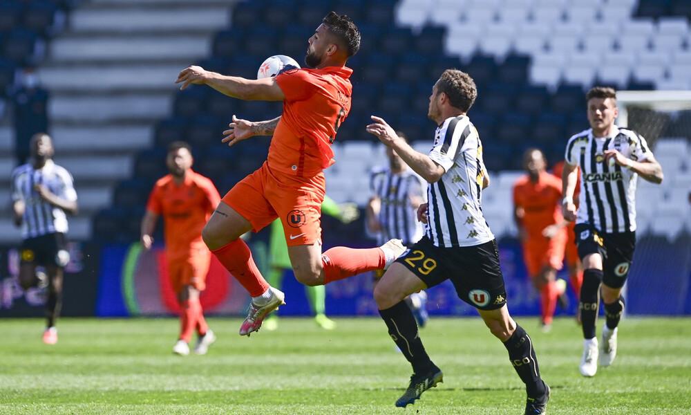 Ligue 1: Γκέλες για Ρεν και Μονπελιέ, ανεβαίνει η Νις (photos)
