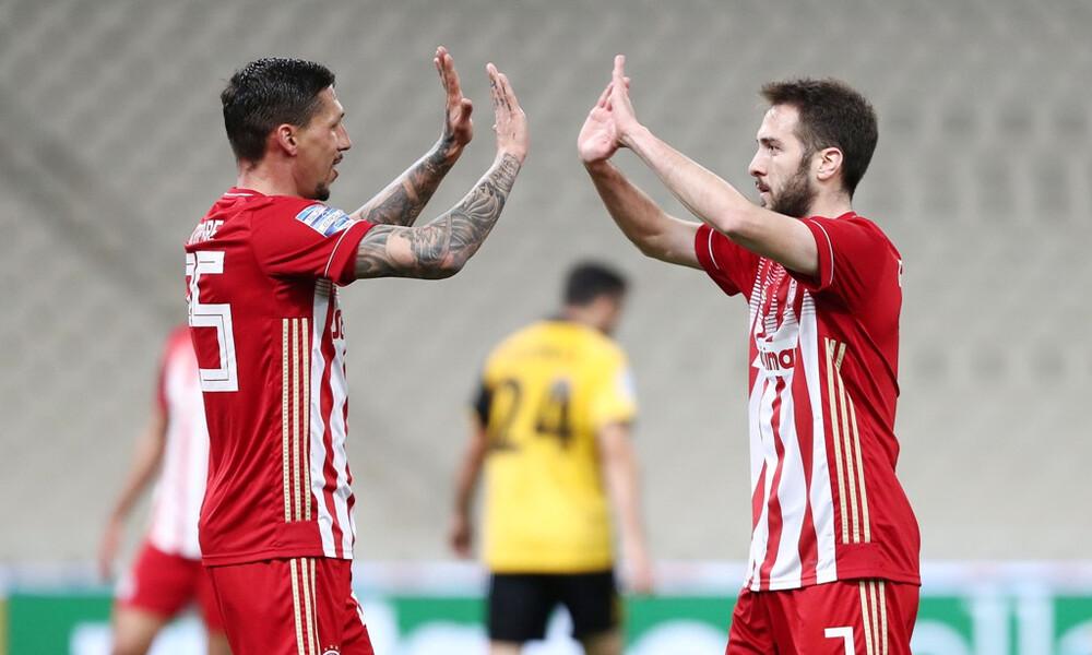 Super League: Η βαθμολογία των play off μετά το ΑΕΚ-Ολυμπιακός (photo)