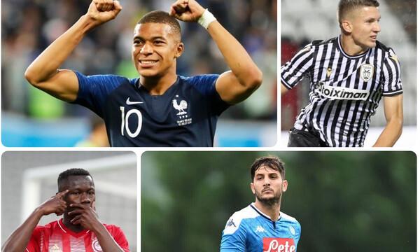Οι λίστες με τους ακριβούς παίκτες στον κόσμο και στη Super League (photos)