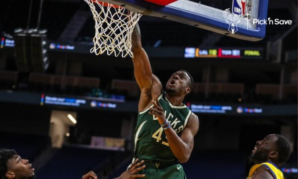 NBA: Τα κατορθώματα του Θανάση απέναντι στους Ουόριορς (video)