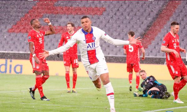 Μπαγέρν Μονάχου-Παρί Σεν Ζερμέν: Ο ασταμάτητος Εμπαπέ εκτέλεσε τον Νόιερ για το 0-1 (video)