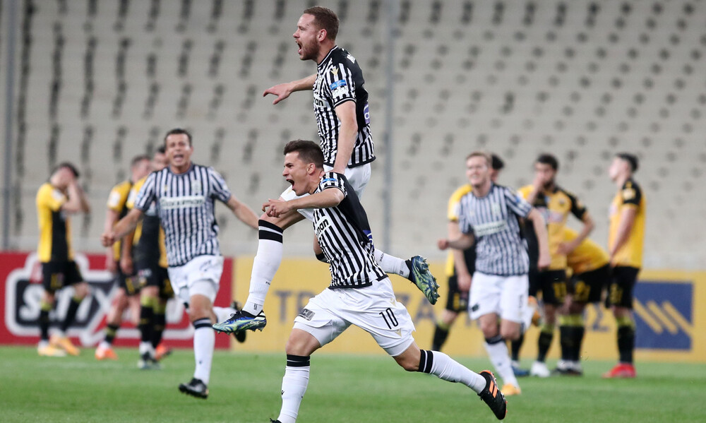 AEK-ΠΑΟΚ: Τέσσερα γκολ ο Μουργκ, τα μισά στο φινάλε κόντρα στην Ένωση! (videos+photos)