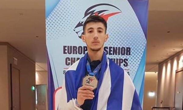 Ταεκβοντό: Ασημένιος πρωταθλητής Ευρώπης ο Ραψομανίκης στη Σόφια