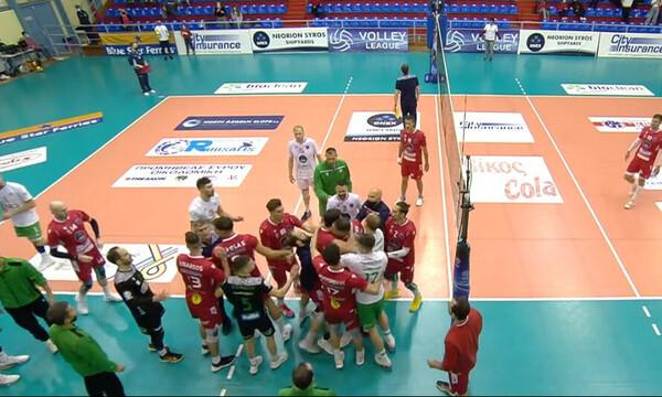 Volley League: Ζήτησε συγγνώμη ο Λούκας Ρανγκέλ! (Photos)