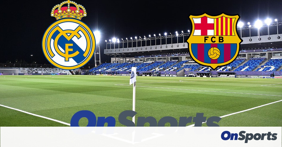 Live Chat Ρεάλ Μαδρίτης - Μπαρτσελόνα 2-1 - Onsports.gr
