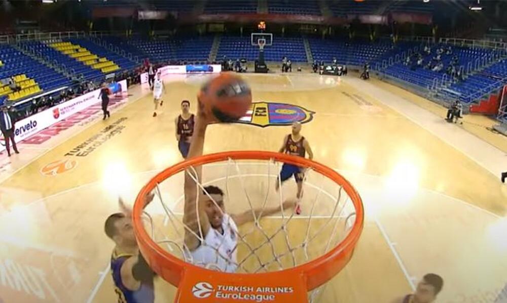 Euroleague: Το Top-10 της αγωνιστικής (video)