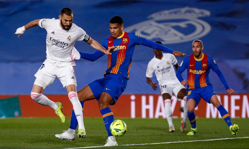 Ρεάλ Μαδρίτης - Μπαρτσελόνα: Μαγεία από Μπενζεμά και 1-0 (video)