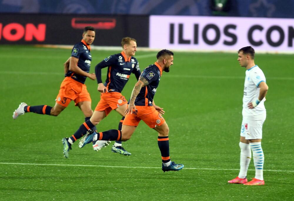 Ligue 1: Βροχή τα γκολ και ισοπαλία στο θρίλερ Μονπελιέ-Μαρσέιγ (video+photos)