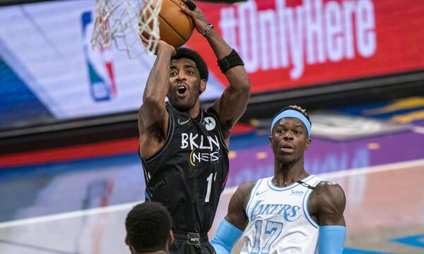 NBA: «Έκαψαν» τους Ουίζαρντς οι Σανς - Πέρασαν από το Μπρούκλιν οι Λέικερς (videos)