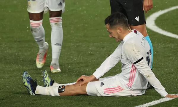 Ρεάλ Μαδρίτης: Τέλος η σεζόν για Λούκας Βάσκεθ!