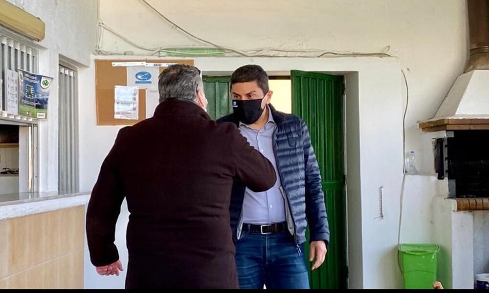 Γ' Εθνική: Στο Ατσαλένιο ο Αυγενάκης