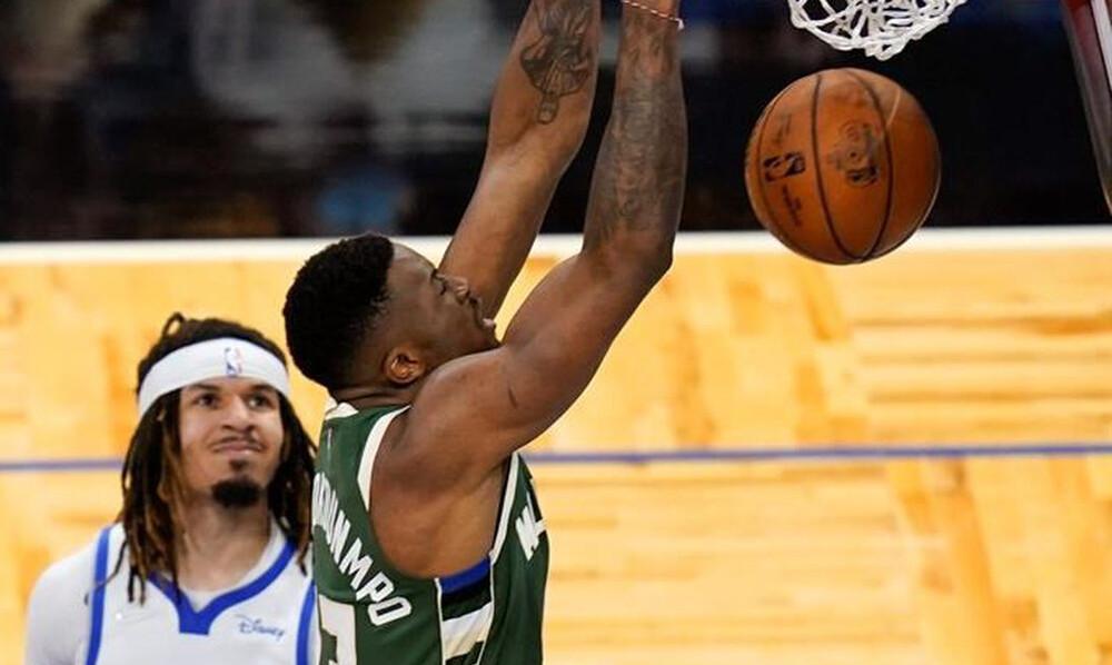 NBA: Επιστροφή στις νίκες με περίπατο για Μπακς (photos+video)