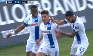 ΠΑΣ Γιάννινα-Λαμία: Τρελός ρυθμός στο ξεκίνημα κι 1-0 οι Ηπειρώτες με Μπρένερ! (video)