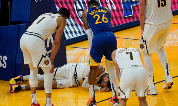 NBA: Πλήγμα για Νάγκετς - Πολύ σοβαρός τραυματισμός για Μάρεϊ (photos+video)