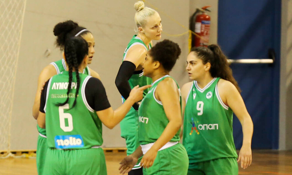Μπάσκετ γυναικών: «Πράσινος σίφουνας» στα Χανιά
