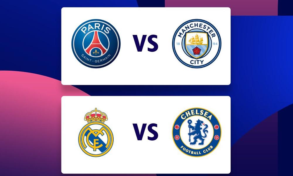 Champions League: Το πρόγραμμα της ημιτελικής φάσης (videos)