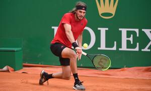 Τένις: Αποφασιστικός Τσιτσιπάς προκρίθηκε στους «8» του Monte Carlo Masters (videos)