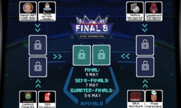 BCL: Τα ζευγάρια του Final 8