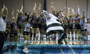 Κυπελλούχος Ελλάδας ο ΠΑΟΚ - Έγραψαν ιστορία τα κορίτσια του δικέφαλου (photos+video)