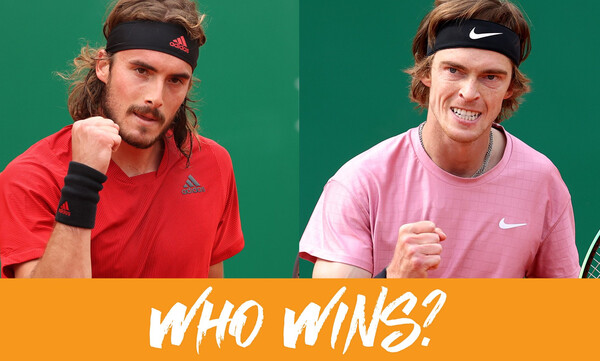 Masters Μόντε Κάρλο: Και τώρα οι δυο τους - Με Ρούμπλεφ στον τελικό ο Τσιτσιπάς (videos)