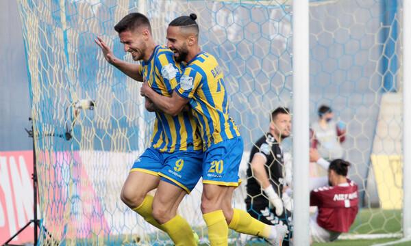Παναιτωλικός-Απόλλων Σμύρνης 1-0: Το απίθανο αυτογκόλ του Λισγάρα - Τα highlights του ματς (video)