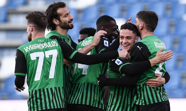 Serie A: Ανατροπή με πέναλτι για τη Σασουόλο! (Photos)