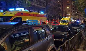 Νέα επεισόδια οπαδών στην Θεσσαλονίκη - Ένας τραυματίας από επίθεση με μαχαίρι (video+photos)